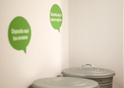 El rincón de reciclar